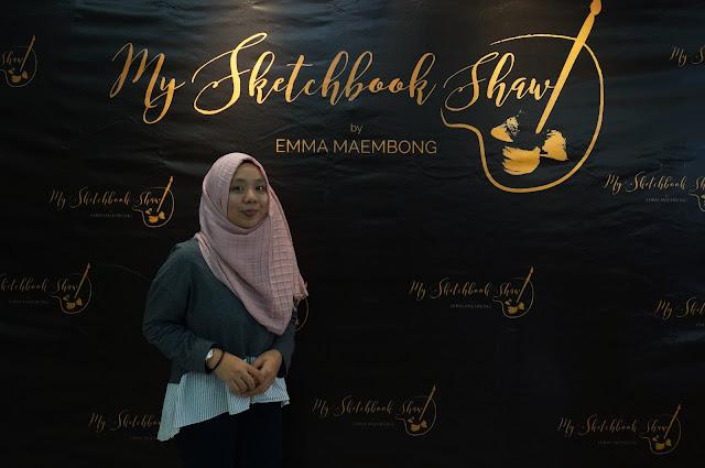 Pelancaran My Sketchbook Shawl By Emma Maembong: Hasil Seni atas Tudung