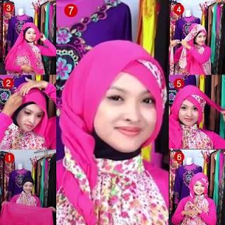 Tutorial Hijab Simple Untuk Muka Bulat