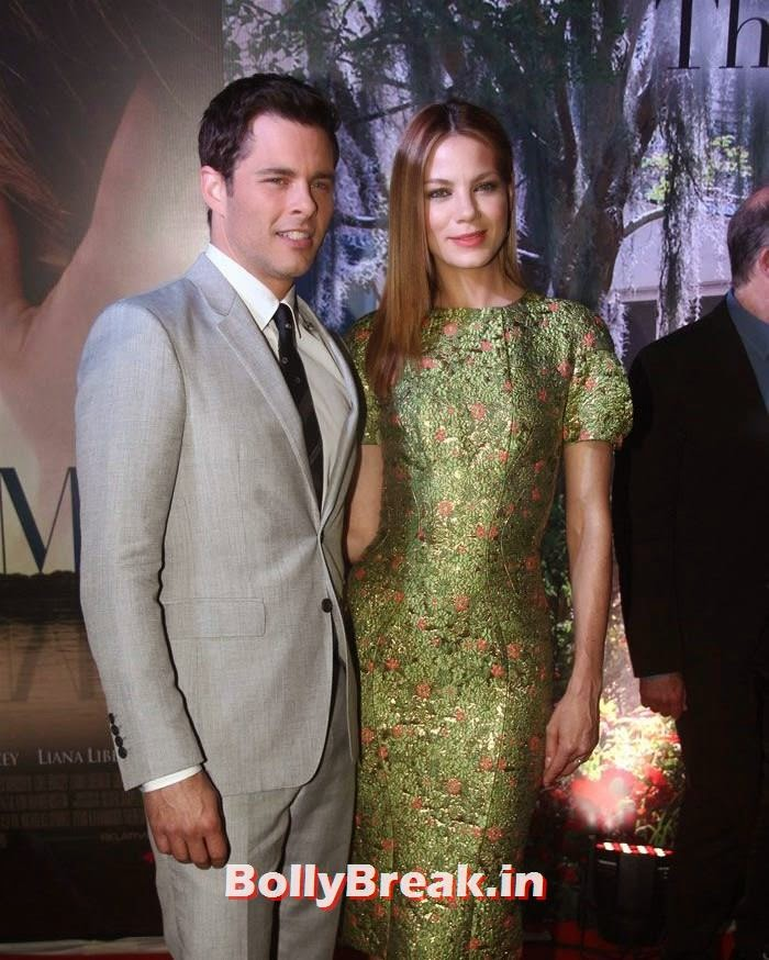 James Marsden, Michelle Monaghan, 'The Best of Me' Premiere Photos