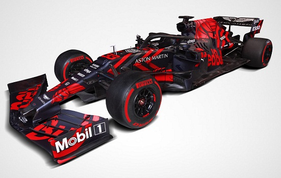Red Bull unveils 2019 Honda-powered F1 car RB15 in 'one-off' livery.