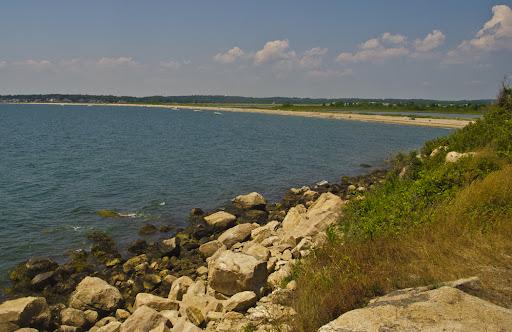 Bushy Beach, Bluff Point State Park, Groton CT