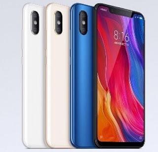 Xiaomi Mi 8 color