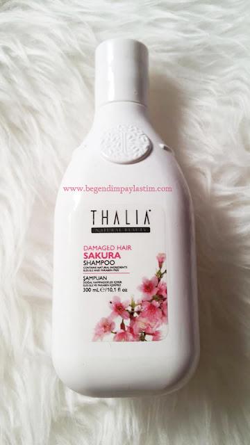 Thalia Sakura Özlü Yıpranma Karşıtı Bakım Şampuanı