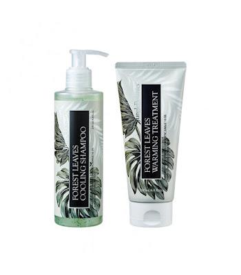 JUNGLE BOTANICS Forest Leaves Cooling Shampoo & Forest Leaves Warming Treatment