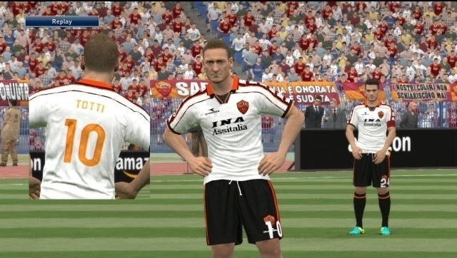AS Roma Classic Kits For PES 2017