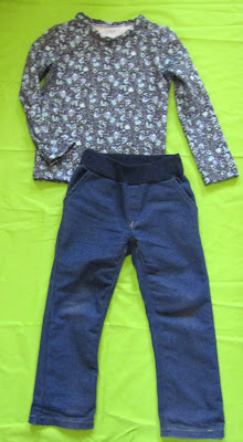 Детская одежда. Кофточка и джинсики.