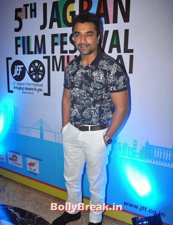Ajaz Khan, 5th Jagran Film Festival Red Carpet Pics