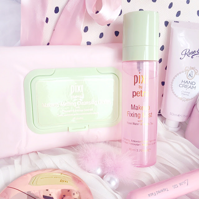 Pixi | Makeup Melting Cleansing Cloths & Makeup Fixing Mist