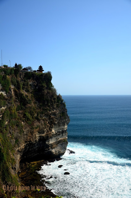 Impresionante acantilado de Uluwatu
