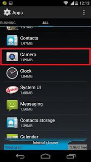 mengatasi kamera android error