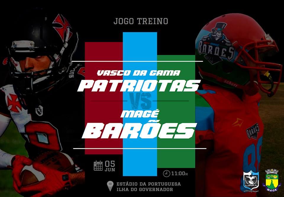 afb7cb544b Opinião Futebol Americano  Vasco da Gama Patriotas realiza testes em ...