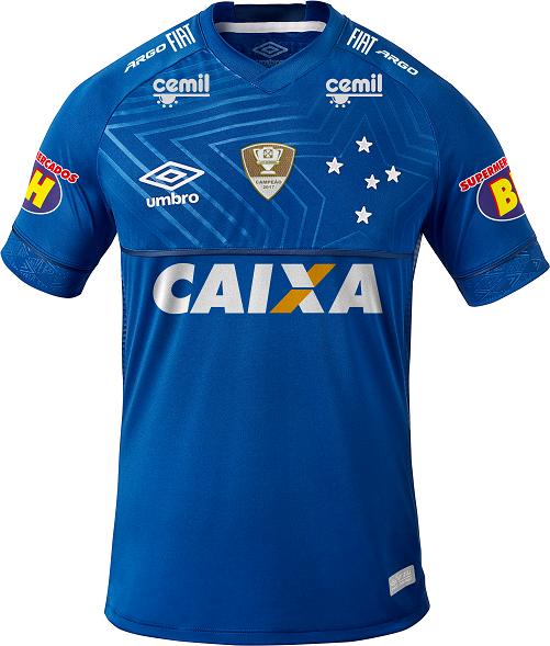 9edab6c13ea8b Cruzeiro fecha patrocínio na camisa para final da Copa do Brasil ...