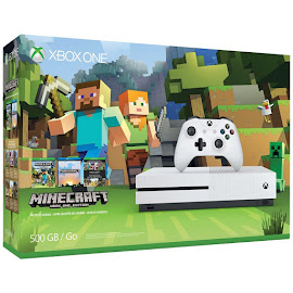 Minecraft Minecract Xbox One S Bundle Media