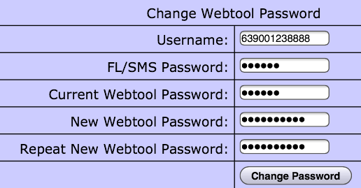 e-loadbiz,loadcentral, How to change Loadcentral Webtool Password