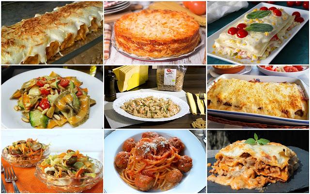 Recetas de pasta sencillas y ricas. Julia y sus recetas