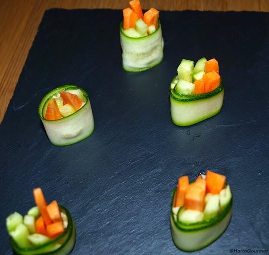 Rollitos de verduras HortoGourmet
