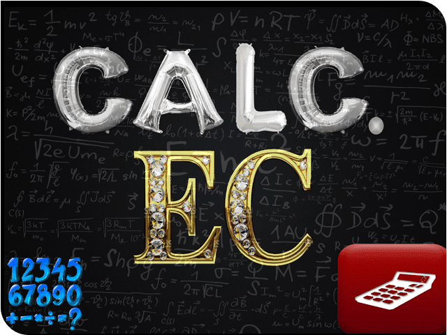 Logo Calculator EC: Software Matemático