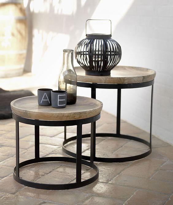 Muebles y auxiliares en hierro forjado decoshabby for Sillas de metal modernas