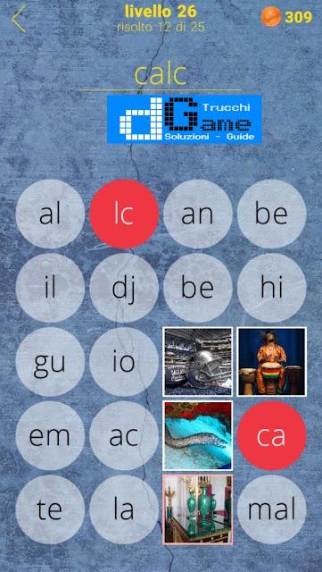 650 Parole soluzione livello 26 (1 - 25) | Parola e foto