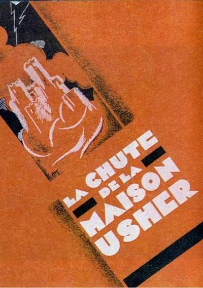 La Chute De La Maison Usher Film : chute, maison, usher, Kraalspace:, Movie, Review:, Chute, Maison, Usher', (1928)