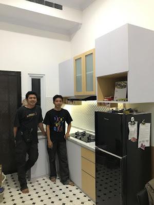 Gambar Kitchen Set Minimalis Harga Murah