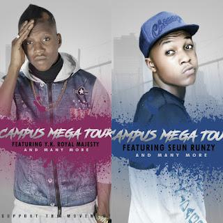 CAMPUS MEGA TOUR HOSTED BY WZM ENTERTAINMENT