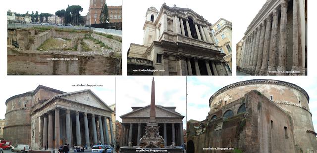Viaje a Roma: Panteón y otros monumentos