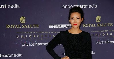 83329c9940a Arden Cho Wearing Tacori at Unforgettable Awards