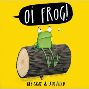 Oi Frog book cover