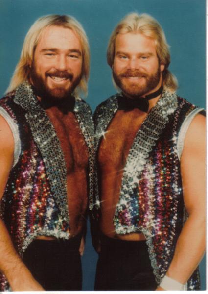 Vintage Everyday Fancy 1980s Wrestlers