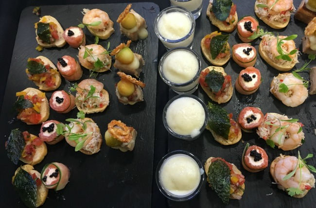 ken-picton-salon-a-review-canapes-spiros-catering