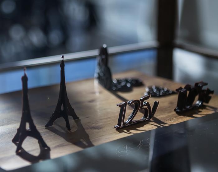 3D suklaa
