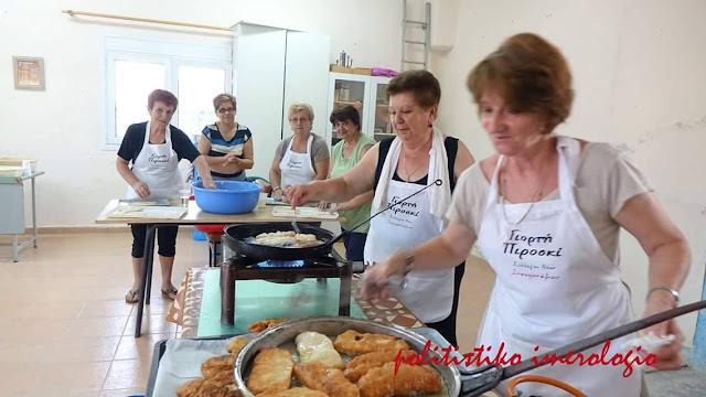 Με μεγάλη επιτυχία ολοκληρώθηκε η 1η Γιορτή Πιροσκί στον Ξηροπόταμο Θεσσαλονίκης
