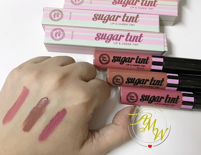 a photo of Pink Sugar Lip & Cheek Tints New Shades (Slay, Pillow Talk and Love Bug)