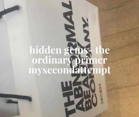 Hidden Gems- The Ordinary Primer