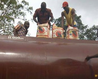 rice smugglers petro tankers