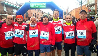 Club Marathón Aranjuez en Fuencarral - El Pardo