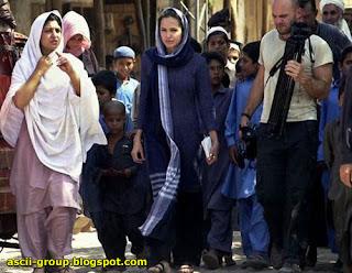 الممثلة الأمريكية انجلينا جولي American actress Angelina Jolie