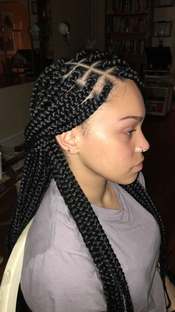 Latest Braided Hairstyles Of The Week