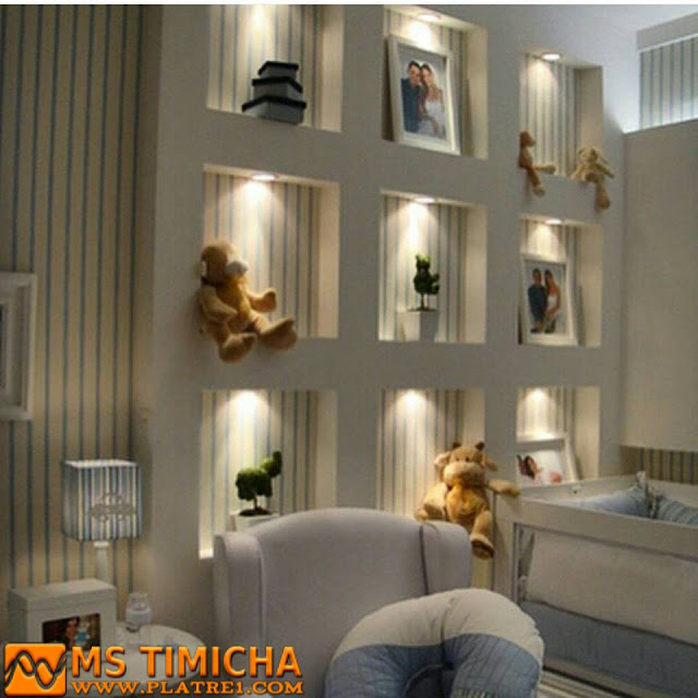 Decoration De Platre : Decor de mur design ms timicha décoration pl tre plafond