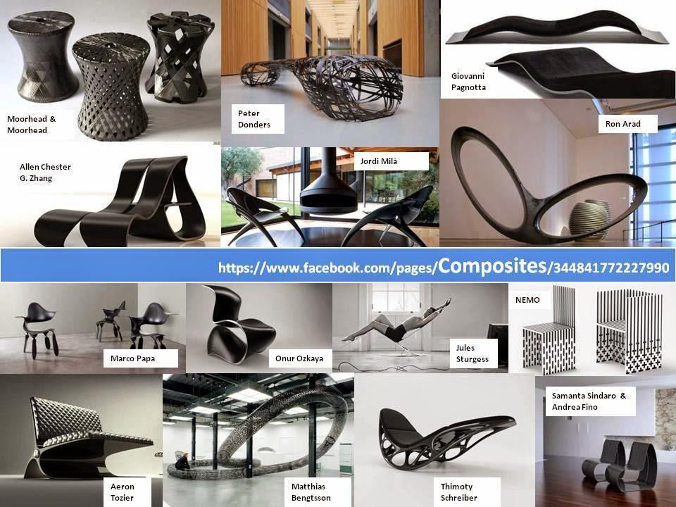 Sillas Carbono Diseñadores Ron Arad