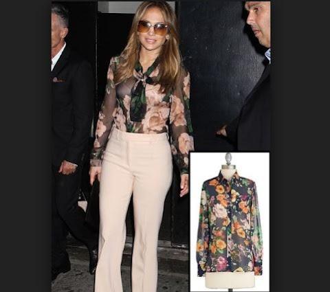 Jennifer Lopez Modern Outfits