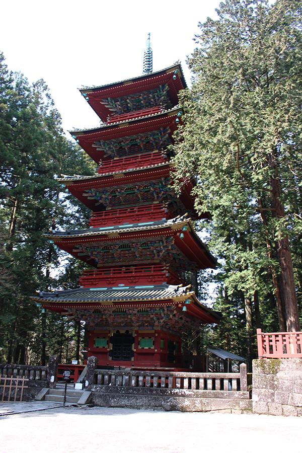 Pagode à Nikko, Japon