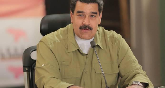 Demanda central de Maduro a oposición en diálogo es que exija que se levanten sanciones