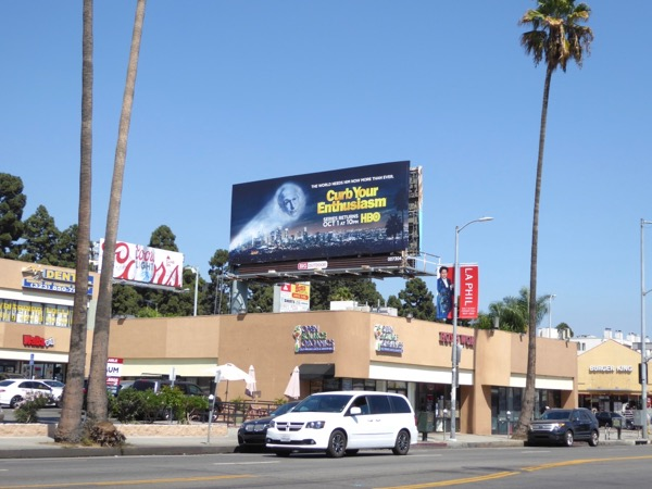 Curb Your Enthusiasm 9 billboard