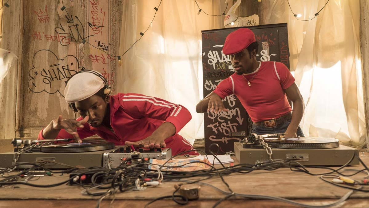 THE GET DOWN - djs