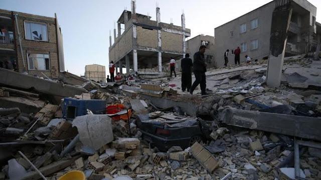 gempa irak