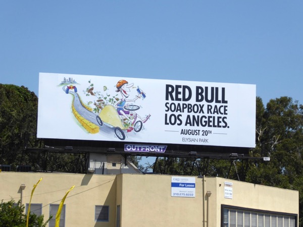 Red Bull Soapbox Race LA 2017 billboard