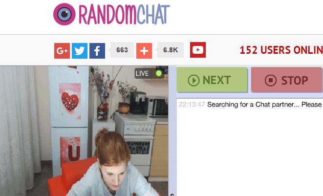 Free random webcam chat sites