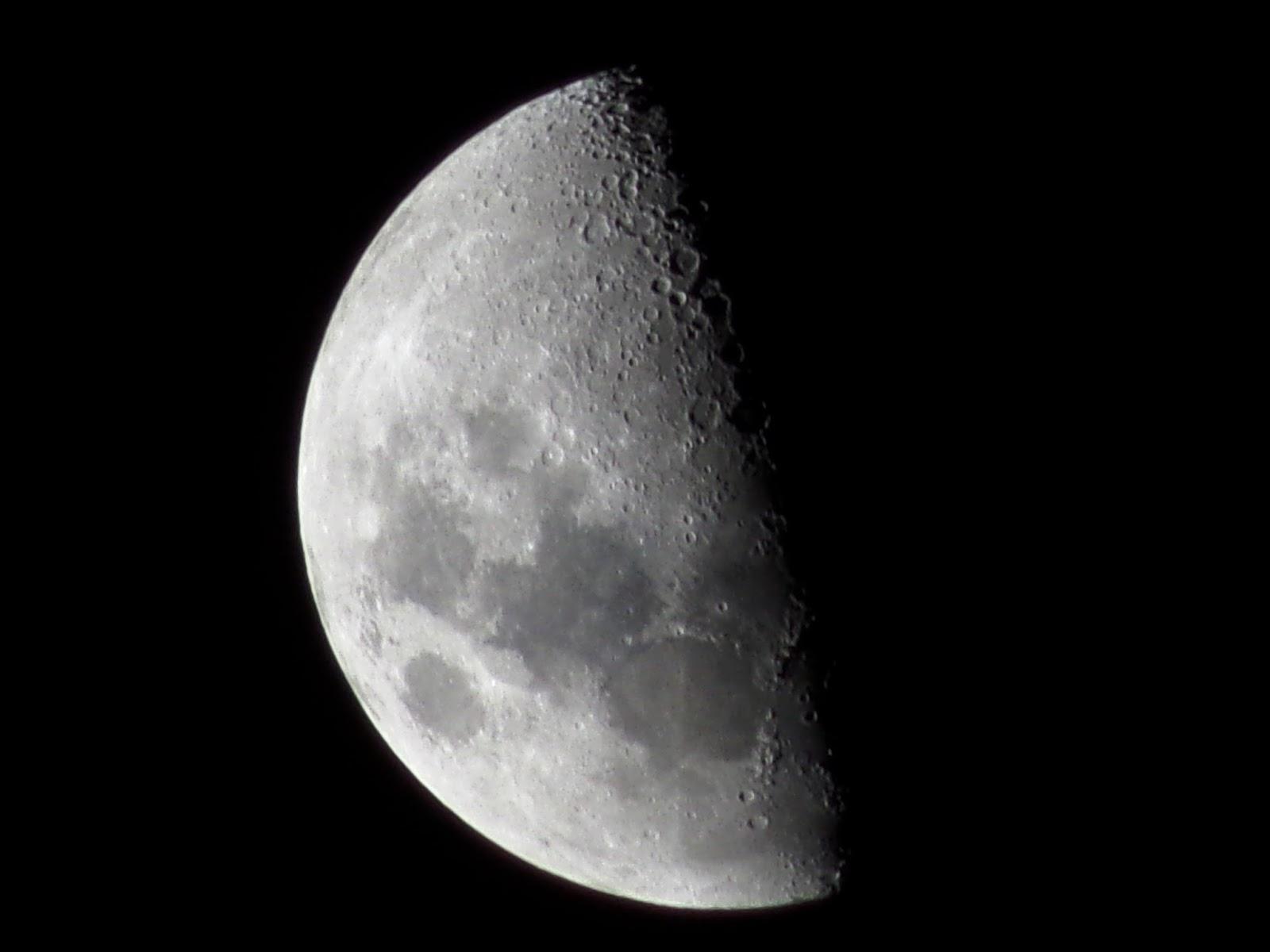 Lunas y Luces : Luna 12 de Junio 2016 Cuarto Creciente 19 hs 07 m ...